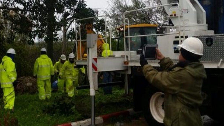 הסופה גורמת לתקלות חשמל ברחבי הארץ