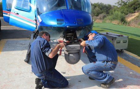 חברת החשמל מבצעת עבודות אוויריות למניעת תקלות