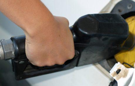ירידה של 11 אגורות במחיר הדלק בחודש דצמבר 2011