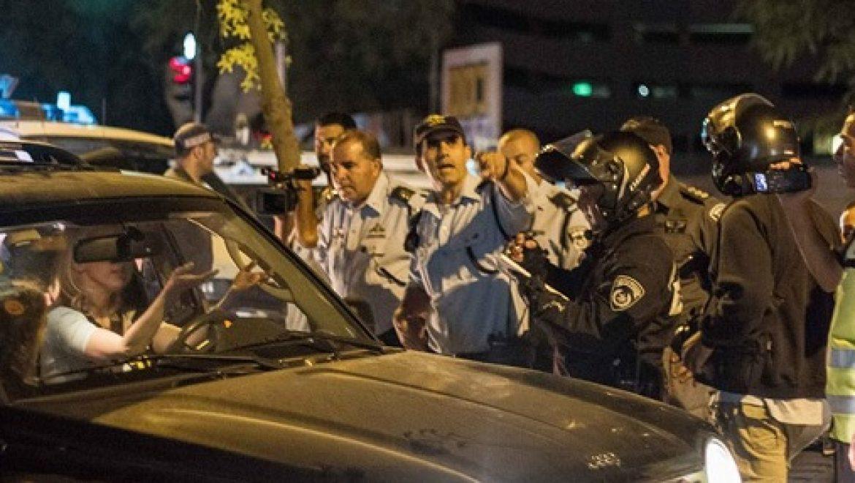 """המפגינים נגד ייצוא הגז קיבלו דו""""חות בסך 5,000 ש""""ח"""
