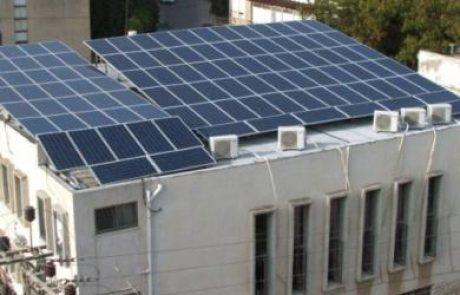 המשרד לשירותי דת מעודד התייעלות אנרגטית ומעבר לאנרגיה פחות מזהמת