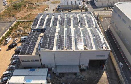 טריפל אס התקינו מערכת סולארית חדשה לאסטרו בי ייעוץ והשקעות בהיקף של 125 KW