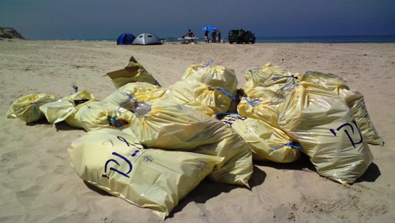 2 מיליון שקל יושקעו השנה בניקוי חופים לא מוכרזים