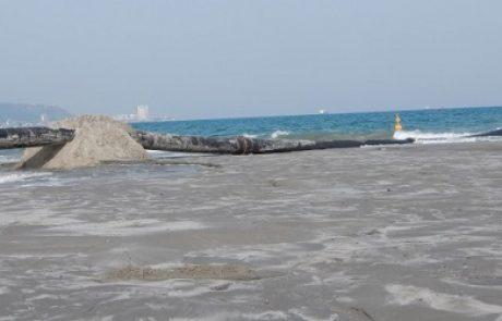 פרוייקט הצלת החופים הנעלמים בקריות מגיע לקו הסיום