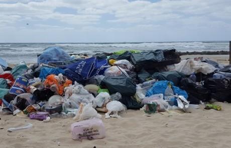 אכיפה מוגברת בחופים: כוחות שיטור יעניקו קנסות על זיהום ולכלוך