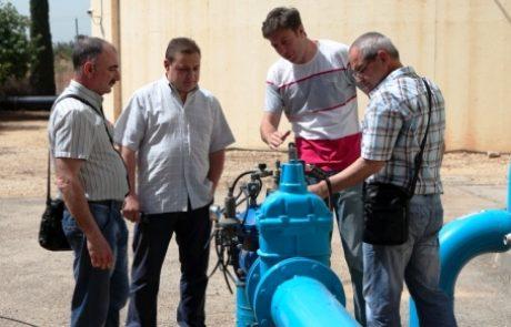 שיתוף הפעולה הישראלי-בולגרי בנושא המים נמשך: משלחת הגיעה לביקור בתאגיד מי-רעננה