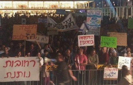 """אל""""מ (במיל') זאב רז בהפגנת הגז: תאגידי הגז הצליחו לסלק את כל האנשים הישרים שעמדו בדרכם"""