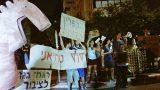 פעילי מאבק הגז הפגינו מול ביתה של הממונה על ההגבלים העסקיים