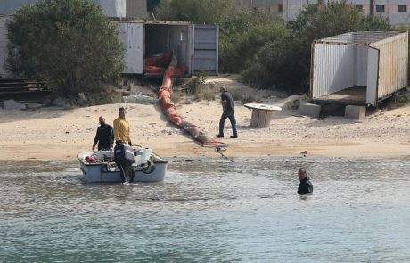 המשרד להגנת הסביבה יפתח בחקירה פלילית לאירוע זיהום הים מצינור הדלק של חברת החשמל
