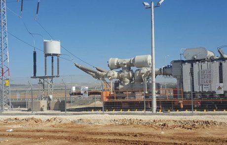 חברת החשמל השלימה מבצע לחיבור 8 תחנות משנה ניידות לרשת החשמל