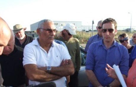 חברי הכנסת שמולי ומזרחי נגד הקמת תחנת הכח בבאר טוביה