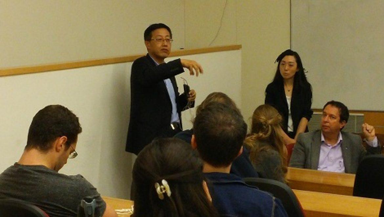 חברת הרוח גולדווינד העניקה שתי מלגות לסטודנטים ישראלים