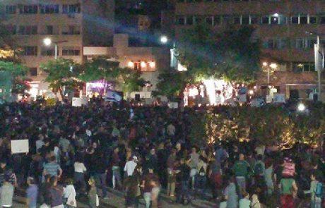 פרופ' זליכה בהפגנה נגד מתווה הגז: זה לא שוד – זה שוד מאורגן