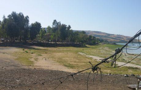 מנזקי הבצורת: עלייה של 30% במליחות מי הכנרת