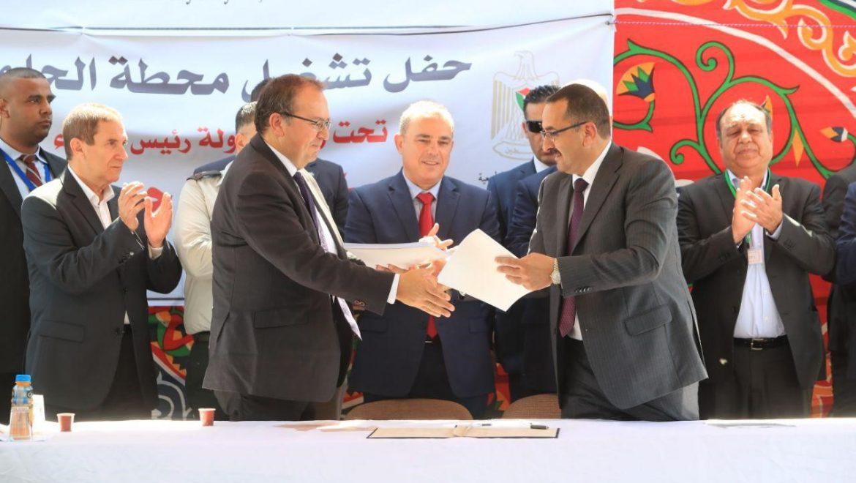 נחתם הסכם ראשון בין חברת החשמל לרשות הפלסטינית להגדלת החשמל באזור ג'נין