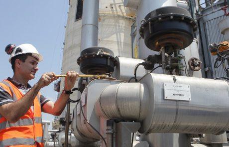 חברת החשמל הפעילה בתחנת הכח בחדרה מתקן SCR להפחתת תחמוצות החנקן