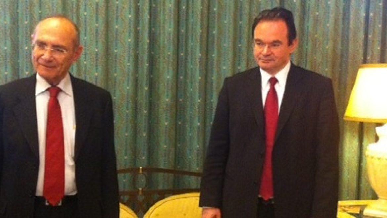 """שרי האנרגיה של ישראל יוון וקפריסין נפגשו באתונה לקידום שת""""פ אזורי"""