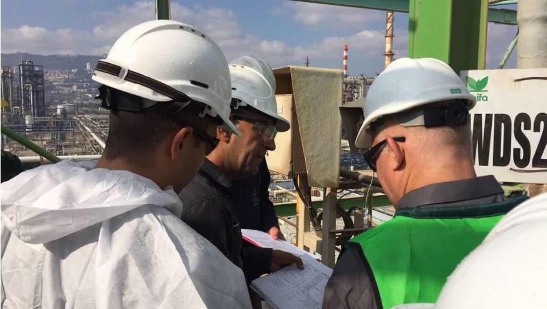 המשרד להגנת הסביבה יחל בהליכי אכיפה נגד חמישה מפעלים מזהמים בחיפה