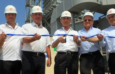 חברת החשמל חנכה יחידת ייצור בהספק 260 מגוואט בגז טבעי בתחנת הכוח 'אשכול'