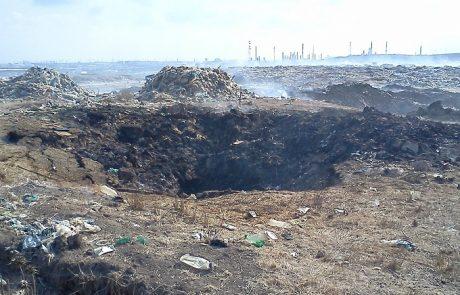 בוער: רשות מקרקעי ישראל פרסמה מכרז לכיבוי הדליקות באתר הפסולת רתמים
