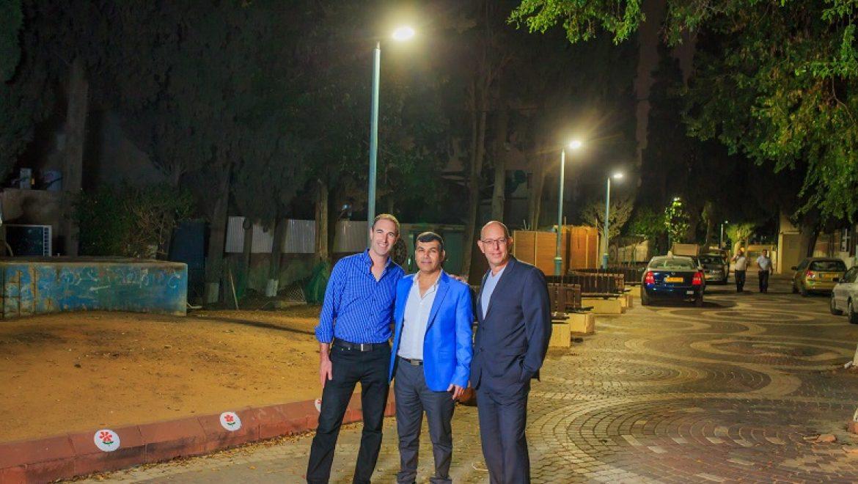 עיריית בת ים החלה בפרוייקט להחלפת כל תאורת הרחוב בעיר לפנסי לד