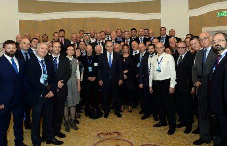נתניהו ביקר בקזחסטן עם משלחת עסקית של עשרות חברות ישראליות