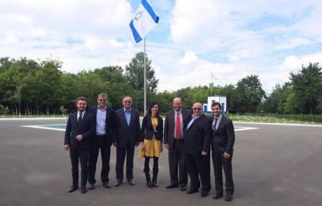 חברת הגיחון חתמה על הסכם שיתוף פעולה עם חברת המים הגדולה ברומניה
