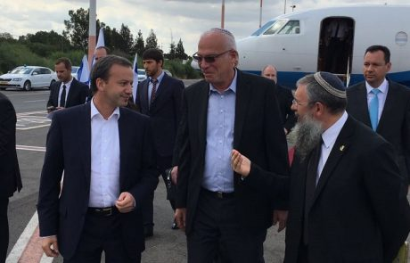 סגן ראש ממשלת רוסיה ביקר במשרד החקלאות ובמכון וולקני