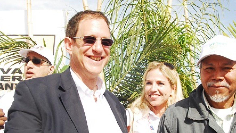 תחנת הכוח הסולארית הראשונה בישראל נחנכה בקיבוץ קטורה