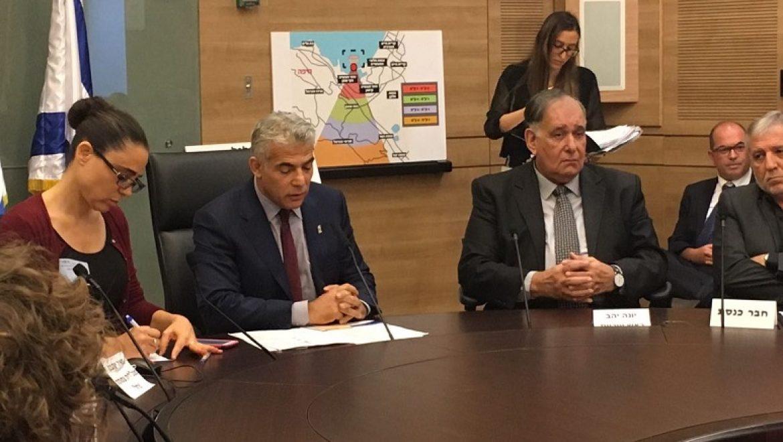 בעקבות כשלון המכרז: כנס חירום בכנסת בנושא מיכל האמוניה במפרץ חיפה