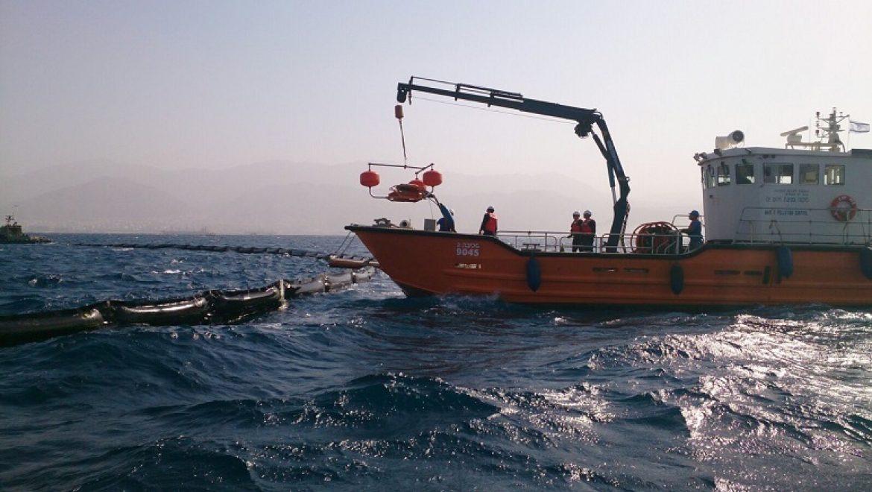 """ביהמ""""ש הטיל קנס מצטבר בסך 100 אלף ש""""ח לנאשמים בזיהום ים בשמן"""