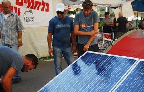פורטל תשתיות מספק אנרגיה נקייה למאבק החברתי