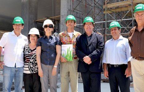 דלקיה תספק מערכות התייעלות אנרגטית בשווי 25 מיליון ₪ למגדל האקולוגי של האחים עזורי