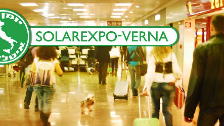 בלעדי לתשתיות: יומן מסע לשמש האיטלקית; רשמים מביקור בתערוכה הסולארית הגדולה באירופה