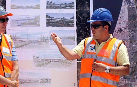 12 גשרים חדשים מוקמים בכביש עוקף קריות