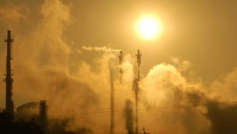 זיהום אוויר גבוה עקב סופת אבק
