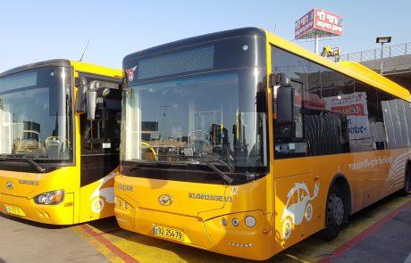 משרד התחבורה: בעוד פחות מעשור רוב האוטובוסים העירוניים יהיו חשמליים