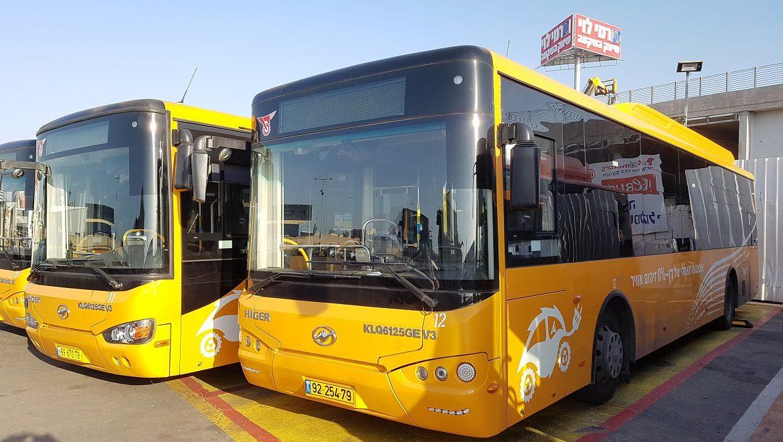 """המשרד להגנת הסביבה וקק""""ל יסבסדו אוטובוסים חשמליים ב-22.5 מיליון שקל"""