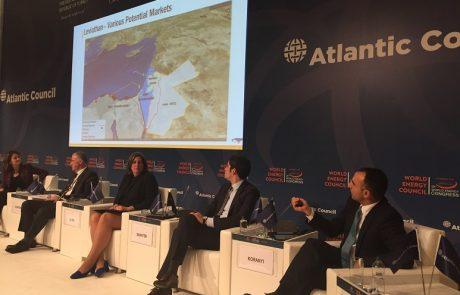 """מנכ""""ל דלק קידוחים הציג את מאגרי הגז הישראלים בכנס אנרגיה בינלאומי באיסטנבול"""