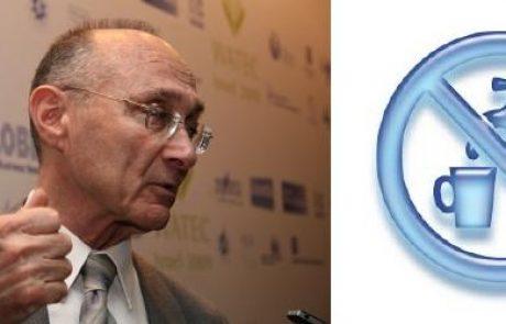 עוזי לנדאו: משרד התשתיות צריך לקבל את סמכויות רשות המים