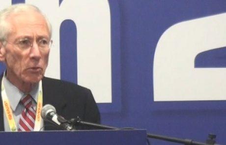 """סטנלי פישר בתערוכת קלינטק 2010 """"הקלינטק הוא מנוע הצמיחה הבא של ישראל"""""""