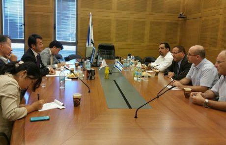 נציגי ישראל, יפן, ירדן והרשות הפלסטינית ידונו בפיתוח משותף של התעשייה והמסחר