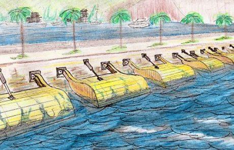 חברת אס.די.אי תפעיל את המתקן הראשון בישראל לייצור חשמל מגלי הים בנמל יפו