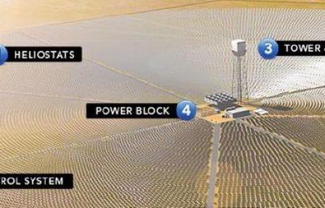 ברייטסורס אנרג'י תקים תחנת כוח תרמו סולארית בקליפורניה