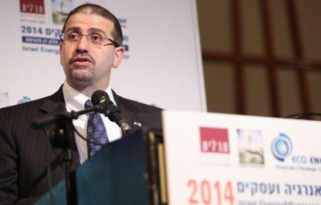 דן שפירו: שיתוף פעולה ישראלי-פלסטיני בתחום האנרגיה הוא גם אינטרס ישראלי