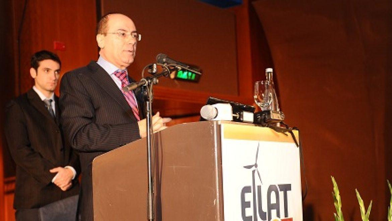 השר סילבן שלום בכנס אילת אילות: לתחום האנרגיה המתחדשת פוטנציאל כלכלי של כ-40 מיליארד
