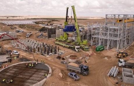 אבן דרך נוספת של חברת מגלים בפרויקט אשלים: הותקן גנרטור הענק החשמלי