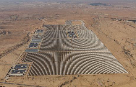פרסום ראשון: פרויקט תחנת הכוח התרמו-סולארית של נגב אנרגיה באשלים מתחיל בביצוע הרצה