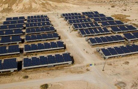 לראשונה בישראל: IC Green Projects חנכה את הפרוייקט הסולארי הגדול בישראל בהספק 2 מגוואט