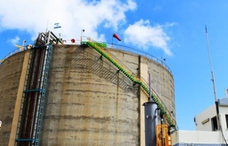 המשרד להגנת הסביבה ערך שימוע לחברת חיפה כימיקלים בנושא מיכל האמוניה
